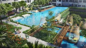 1.700 m2 mặt nước được quy hoạch thế nào trong dự án The Infiniti?